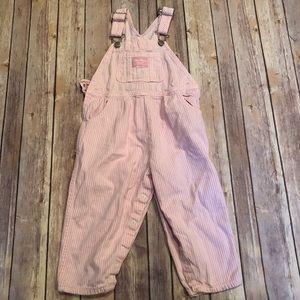 Vintage Oshkosh pink overalls